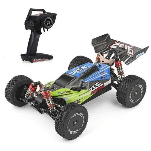 Купить Радиоуправляемая машинка багги WLToys масштаб 1:14 - WLT-144001-GREEN, WL Toys, Радиоуправляемые игрушки