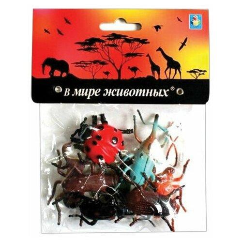 Купить Набор фигурок В мире животных Насекомые , 8 шт., 5 см, 1TOY, Т10499, 2 шт., 1 TOY, Игровые наборы и фигурки
