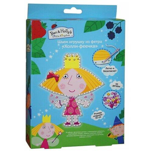 делай с мамой шьем игрушку из фетра том гадкий я РОСМЭН Набор для творчества Шьем игрушку из фетра Холли-феечка (31086)