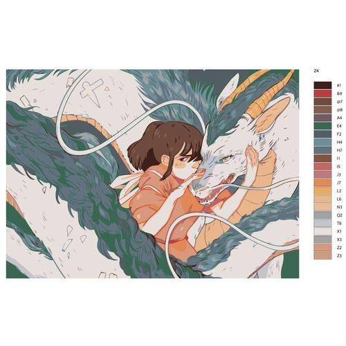 Картина по номерам «Японские гравюры» 50х70 см (Z-4)