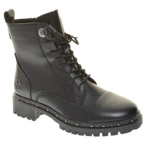 Ботинки Rieker , размер 38 , черный