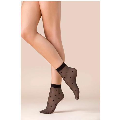 Капроновые носки Gabriella Stars 527, размер One size, nero