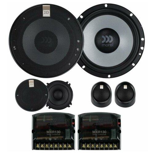 Morel MAXIMO ULTRA 603 MKII - 3 полосная компонентная акустическая система автоакустика morel maximo ultra 502 coax