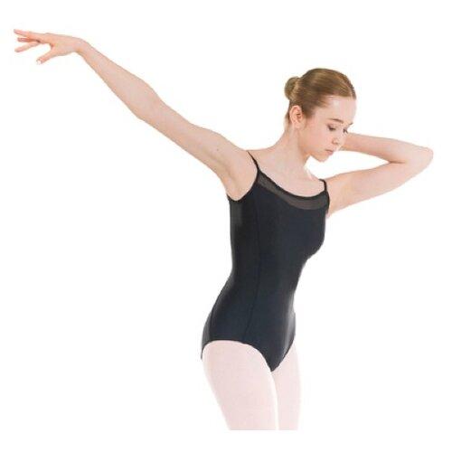 Купальник для классического танца с тонкими бретельками чёрный для девочек STAREVER Х Decathlon Черный 10