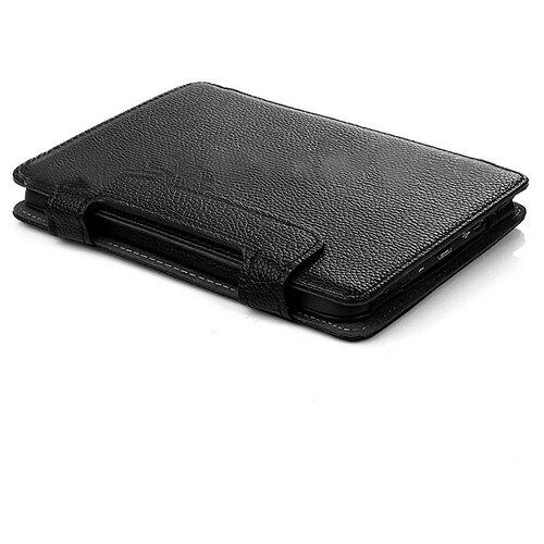 Чехол-обложка футляр MyPads для Pocketbook 611 Basic из качественной эко-кожи тонкий с магнитной застежкой черный