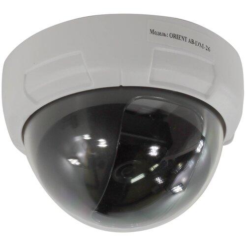 Муляж камеры видеонаблюдения ORIENT AB-DM-26 (муляж) белый/черный