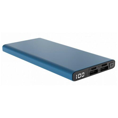 external battery accesstyle violet 10mp 10 000 mah Внешний аккумулятор Accesstyle Lava 10D, 10000 mah с дисплеем, синий