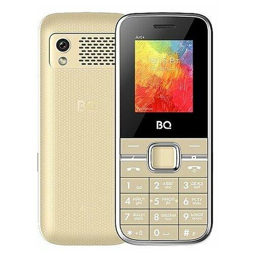 Мобильный телефон BQ 1868 Art+ Gold мобильный телефон bq elegant 3595 серый