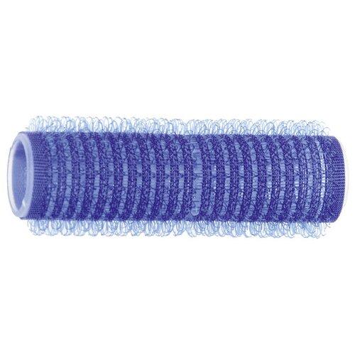 Фото - Бигуди-липучки DEWAL,синие d 16мм 12шт/уп DEWAL MR-R-VTR9 бигуди бумеранги dewal оранжевые d18ммх150мм 10 шт уп dewal mr bum18150