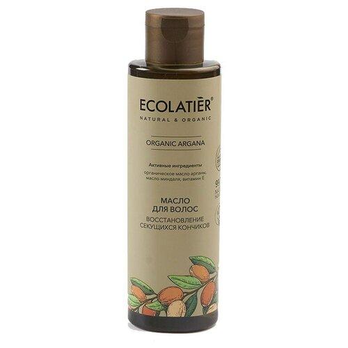 Фото - Ecolatier GREEN Масло для волос Глубокое восстановление секущихся кончиков Серия ORGANIC ARGANA, 200 мл eco laboratorie бальзам питательный для слабых и секущихся волос 200 мл