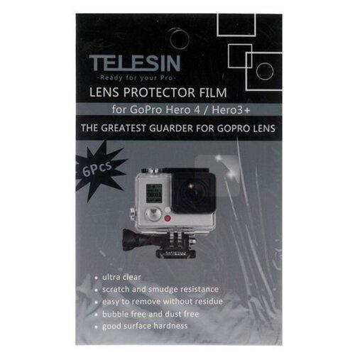 Фото - Пленка TELESIN на линзу бокса для Hero telesin защелка с двумя креплениями для камер и аксессуаров черный