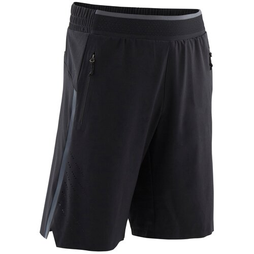 Шорты дышащие спортивные W900 для мальчика, размер: 141-150CM10-11A, цвет: Черный DOMYOS Х Декатлон