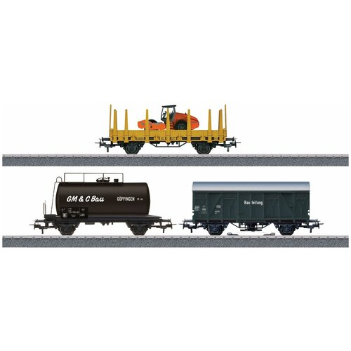 Дополнительный набор грузовых вагонов для железной дороги