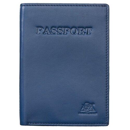 Обложка для паспорта A&M, 2116 синяя