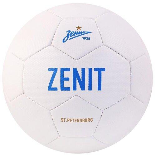 Мяч футбольный ФК Зенит, материал PU, размер 5, для детей, для малышей, для игры на улице, развивающая игрушка, диаметр 22 см