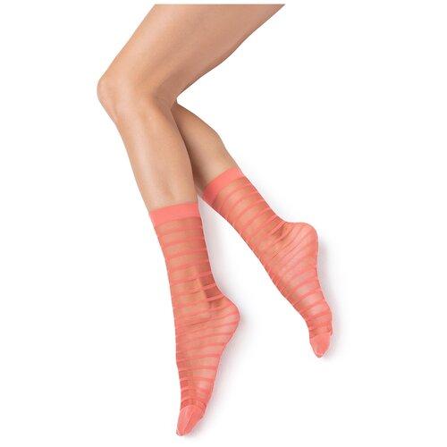 Капроновые носки MiNiMi Folletto, размер 0 (one size), rosso