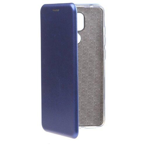 Фото - Чехол Zibelino для Xiaomi Redmi Note 9 Book Blue ZB-XIA-RDM- чехол zibelino для xiaomi redmi 9 book platinum grey zb xia rdm 9 gry