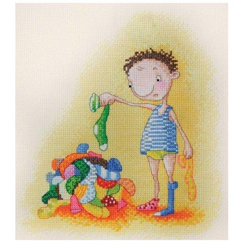 Набор для вышивания Головоломка Elina Ellis illustration 20 х 24 см МАРЬЯ ИСКУСНИЦА 15.001.25 набор для вышивания марья искусница 11 001 24 испания