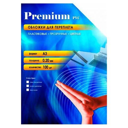 Фото - Обложки для переплета Office Kit А3 100шт Transparent PCA300200 обложки для переплета office kit а3 100шт green pga300180