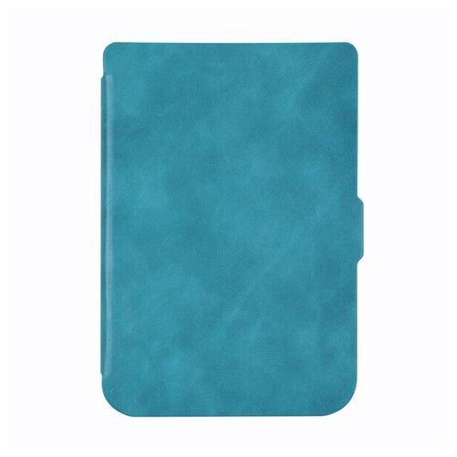 Чехол-обложка SkinBox Slim Case для Pocketbook 616/627/632 (голубой)