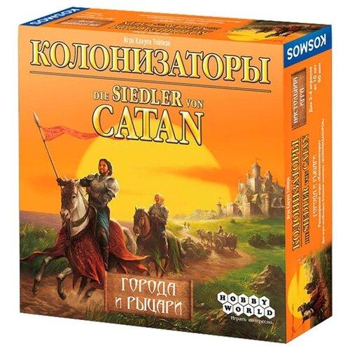 Настольная игра Hobby World Колонизаторы Города и рыцари 181900