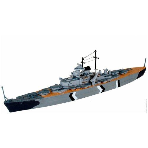 Фото - Сборная модель Revell Bismarck (65802) 1:1200 сборная модель revell ah 64 apache 06631 1 100