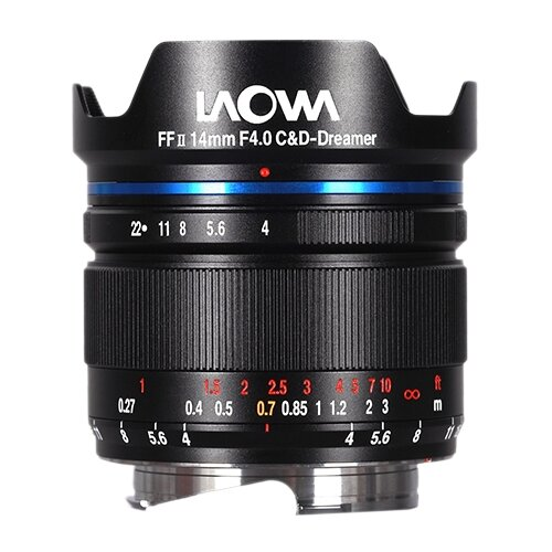 Объектив Laowa 14mm f/4 FF RL Zero-D Leica M черный
