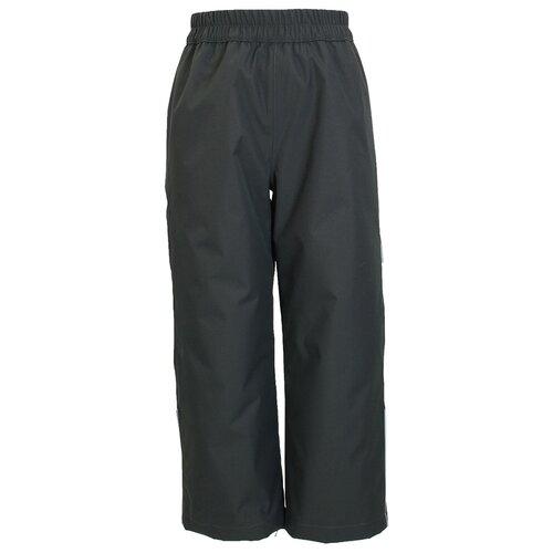 Купить Брюки FRIDA 1 26550104-00018, Huppa, Размер 116, Цвет 00018-темно-серый, Полукомбинезоны и брюки