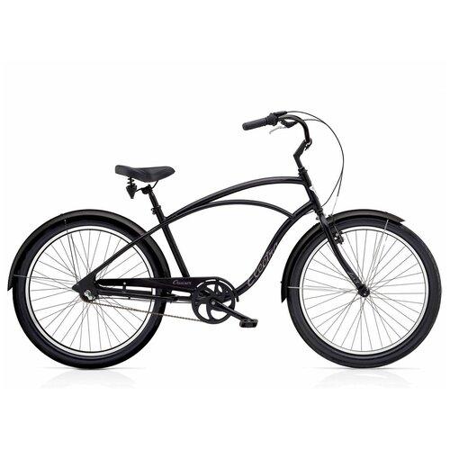 Велосипед городской Electra Cruiser Lux 3i Black(В собранном виде)