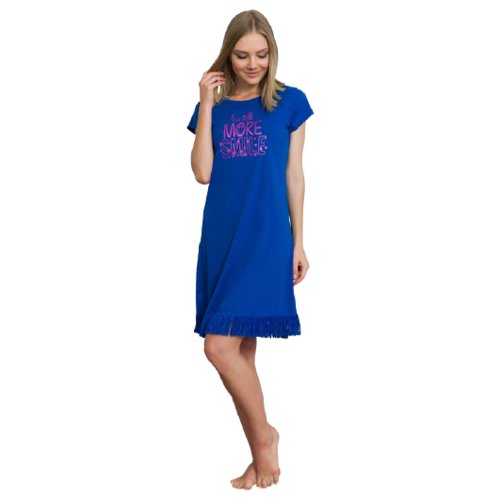 vienetta Платье Vienetta, размер S, синий