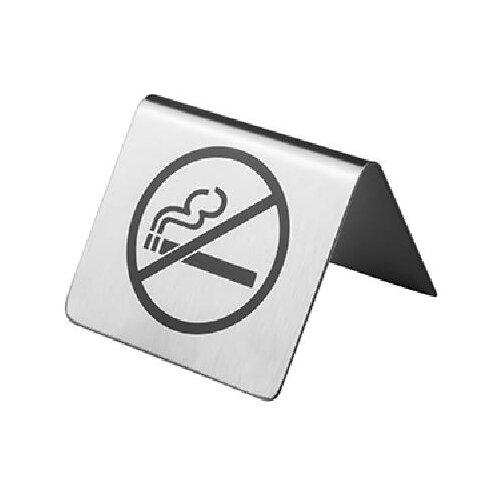 Табличка «Не курить»; сталь нерж., Prohotel, арт. SBT8
