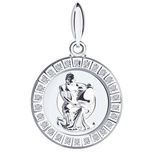 SOKOLOV Подвеска «Знак зодиака Водолей» из серебра 94031393