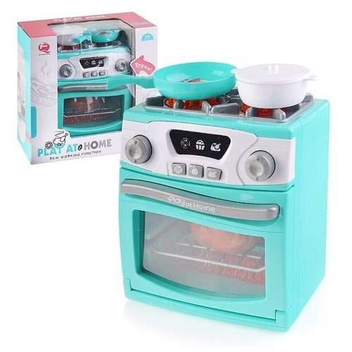 Купить Кухонная плита Oubaoloon в коробке (QF26131G), Детские кухни и бытовая техника