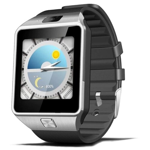 Смарт-часы Android OS Smart Watch QW09 серебристые