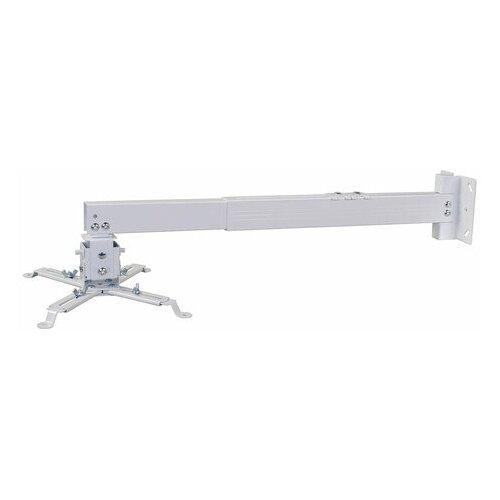 Кронштейн для проекторов настенно-потолочный CACTUS CS-VM-PRE03-WT белый максимальный вес 23 кг 1 шт.