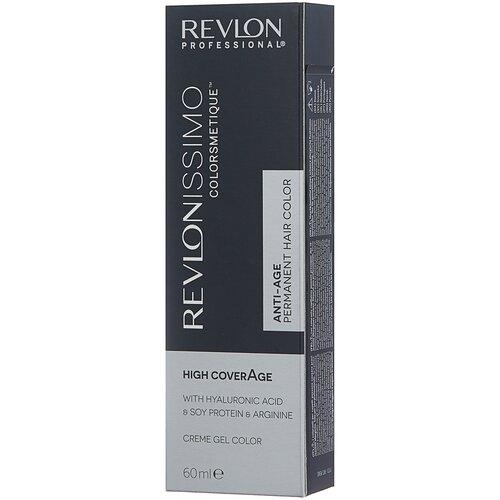 Купить Revlon Professional Revlonissimo Colorsmetique стойкая краска для волос High Coverage, 5-35 янтарный светлый каштан, 60 мл