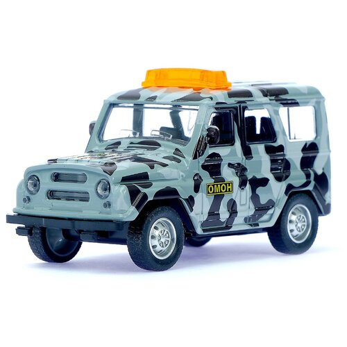 Фото - Машинка Автоград Джип ОМОН, инерционная, масштаб 1:43, 3527626 автоград машина металл полицейский джип инерционная свет и звук масштаб 1 43 sl 2493d 1740074