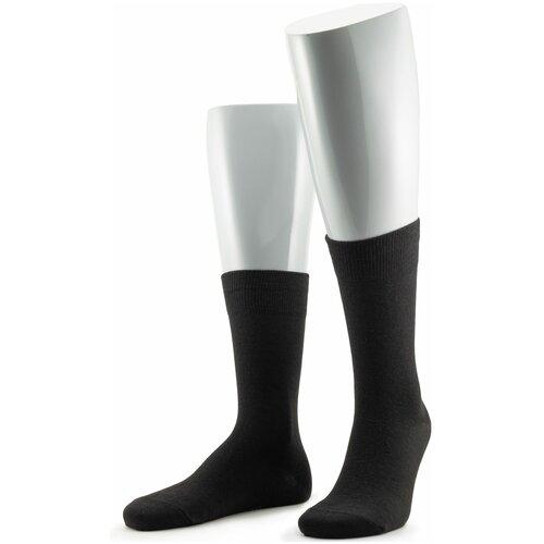 Носки мужские Grinston 15D19 теплые, Черный, 25 (размер обуви 39-41)