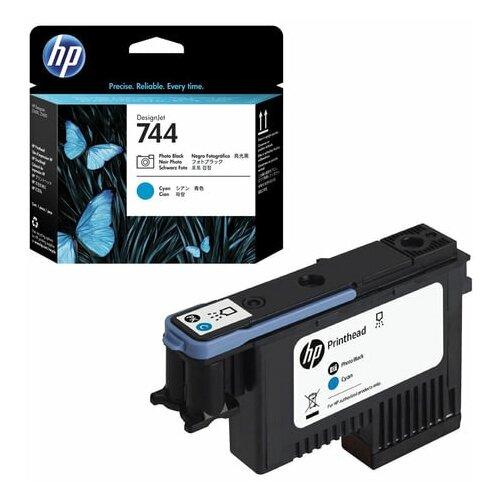 Головка печатающая для плоттера HP (F9J86A) Designjet Z2600/Z5600 №744 черный фото/голубой оригинальный 1 шт.