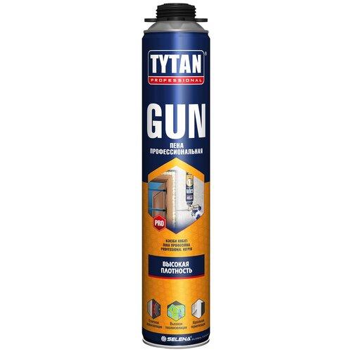 ПЕНА ПИСТОЛЕТНАЯ TYTAN GUN ПРОФИ О2 750 МЛ (12/672) пена пистолетная tytan gun профи о2 750 мл 12 672