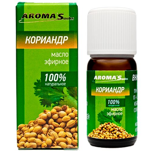 AROMA'Saules эфирное масло Кориандр, 10 мл