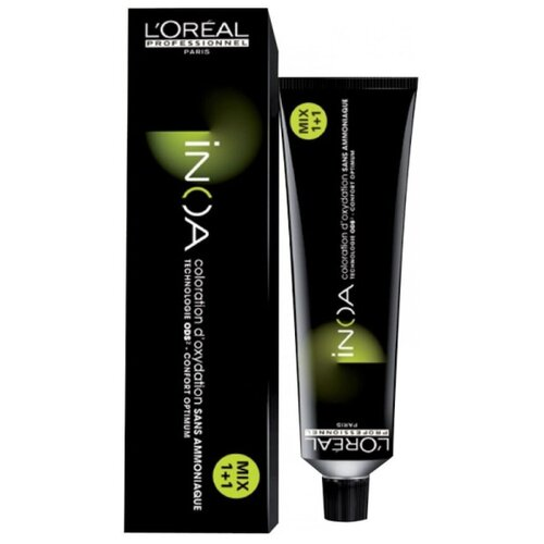 Купить L'Oreal Professionnel Inoa ODS2 краска для волос, 1 черный, 60 мл