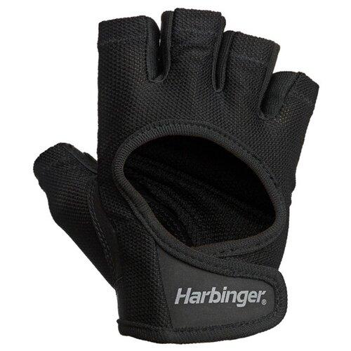 Перчатки женские Harbinger Power, размер S, черный женские перчатки harbinger flexfit размер s черные