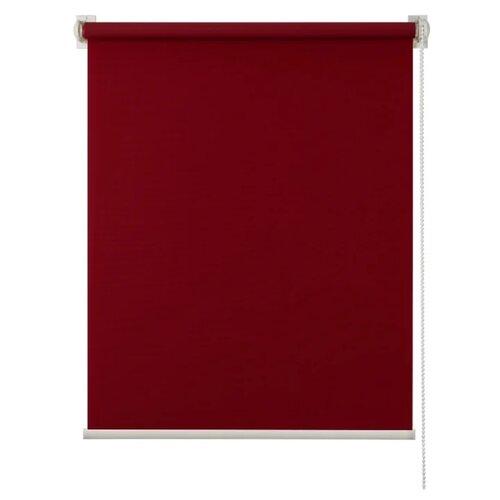 Рулонная штора Prime Decor Миниролло Plain (бордовый), 90х170 см
