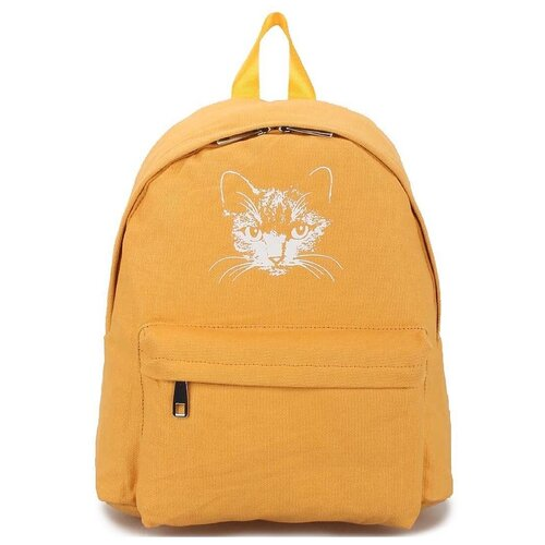 Текстильный рюкзак «Мяусон» 472 Yellow