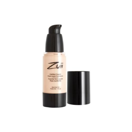 Купить Zuii Organic Тональный крем Certified organic flora liquid foundation, 30 мл, оттенок: olive light