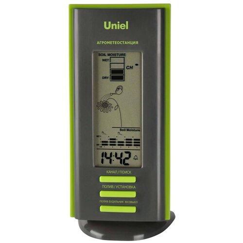 Uniel Агрометеостанция UTV-63 черный/зеленый недорого