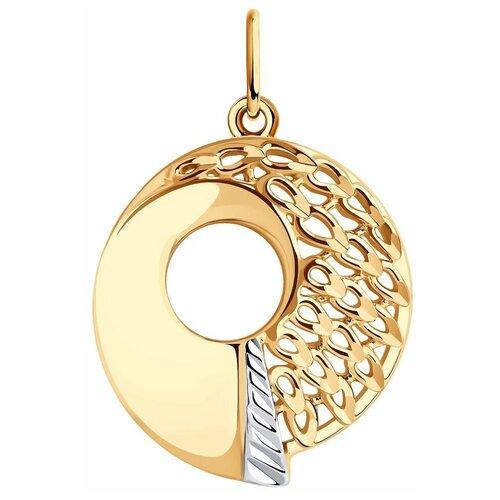 SOKOLOV Подвеска из золота с алмазной гранью 036006