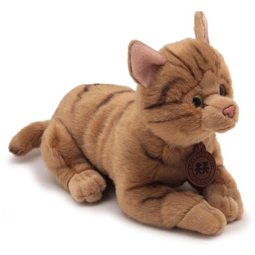 Мягкая игрушка Anna Club Plush Кошка бенгальская, лежит 20 см.