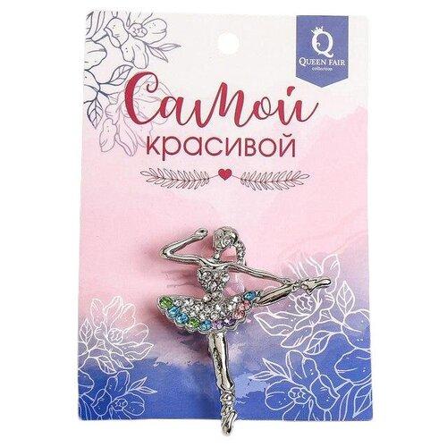 Queen fair Брошь Балерина 1489152 queen fair брошь орден 102638